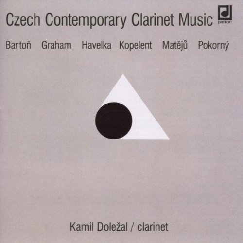Various Composers - Czech Contemporary Clarinet Music (Martinu Quartet)