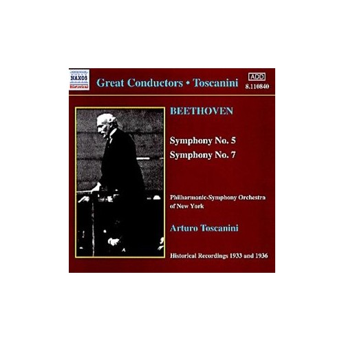 Philharmonic Symphony Orchestra of New York - Beethoven: Symphonies Nos. 5 & 7 [Recorded 1933 & 1936