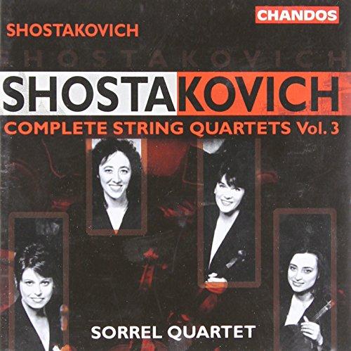 Dmitri Shostakovich - Shostakovich: Complete String Quartets Vol. 3
