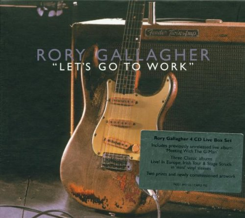 Gallagher, Rory - Let's Go To Work: Meeting With The G-Man By Gallagher, Rory
