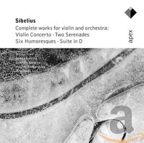 Jean Sibelius (1865-1957): Complete Works For Violin And Orchestra