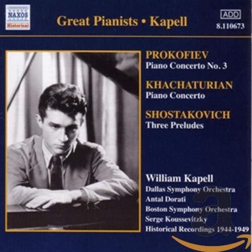 Koussevitzky, Serge - Prokofiev - Piano Concerto 3