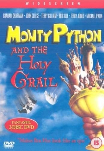 Monty-Python-and-the-Holy-Grail-Two-disc-set-DVD-CD-HGVG-FREE-Shipping