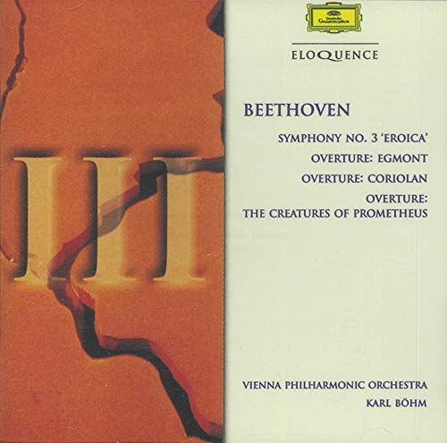 Beethoven Symphony 3: 3 Overtures