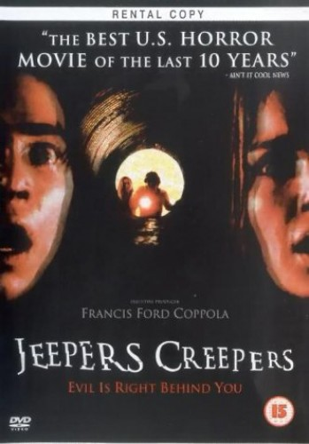 Jeepers-Creepers-DVD-CD-YUVG-FREE-Shipping