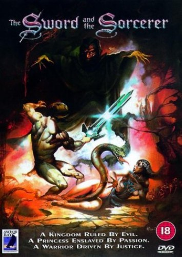 The-Sword-And-The-Sorcerer-DVD-CD-ZFVG-FREE-Shipping