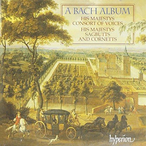 His Majestys Sagbutts & Cornetts - A Bach Album
