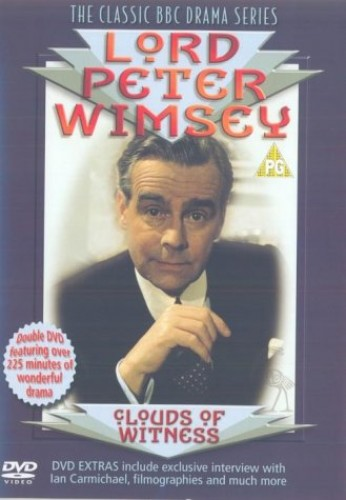 Lord-Peter-Wimsey-Clouds-Of-Witness-DVD-1972-CD-LJVG-FREE-Shipping