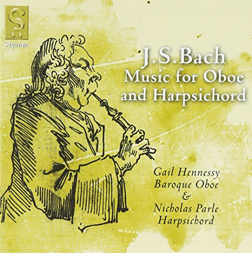 Nicholas Parle - J.S. Bach - Music for Oboe and Harpsichord