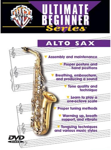 ultimate beginner ultimate beginner alto saxophone vol 1 2 dvd colour dvd video pal. Black Bedroom Furniture Sets. Home Design Ideas