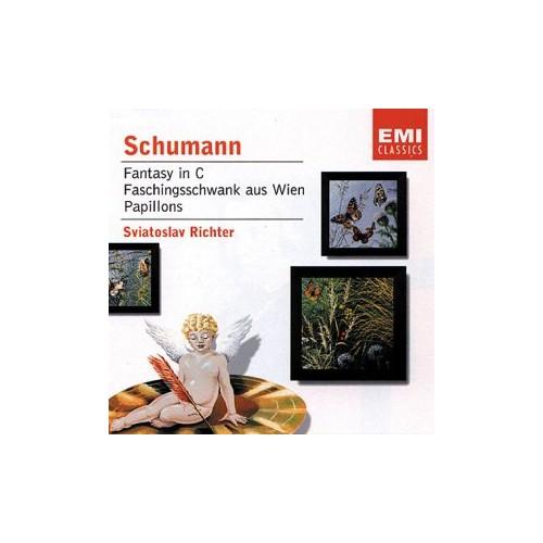 Schumann : Fantasy in C/Faschingsschwank aus Wien/Papillons