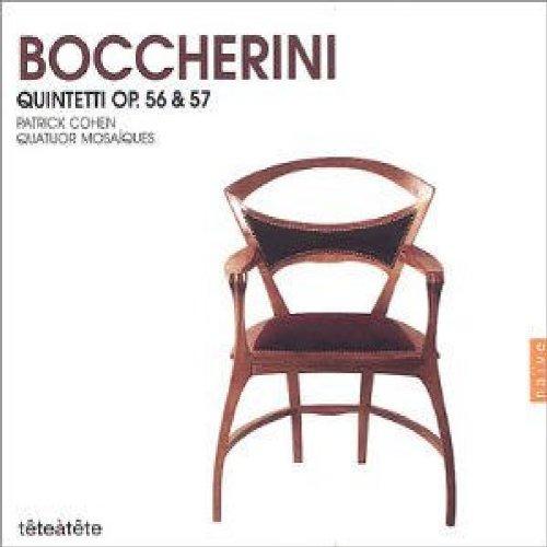 Quatuor Mosaiques - Boccherini: Piano Quintets, Op 56 & 57 /Cohen · Quatuor Mosaïques By Quatuor Mosaiques