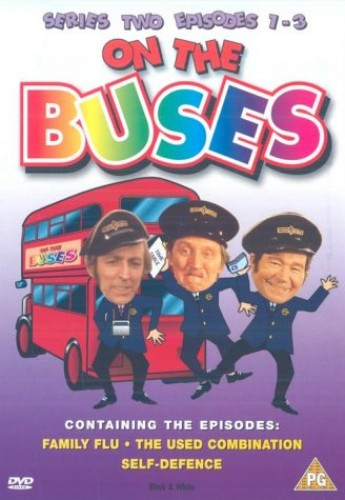 On-The-Buses-Series-2-Episodes-1-3-DVD-1969-CD-GKVG-FREE-Shipping