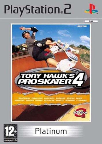 Tony Hawk's Pro Skater 4 Platinum (PS2)