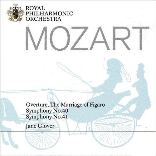 Jane Glover - Mozart Symphonies Nos. 40 and 41, and Overture The Marriage of Figaro. By Jane Glover