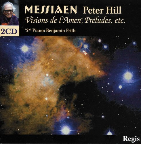 Peter Hill - Visions De L'Amen 2CDs