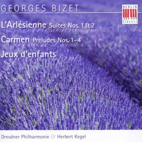 Bizet - L'Arlésienne; Carmen Suite; Petit Suite d'Orchestre Op 22