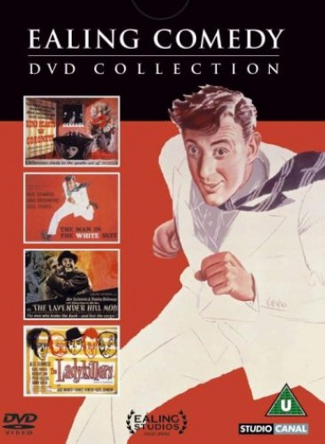 Ealing Comedy DVD Collection - The Ladykillers/Kind Hearts and Coronets/The Lavender Hill Mob/The Ma