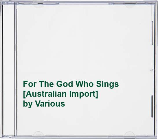 Various Artists - For The God Who Sings