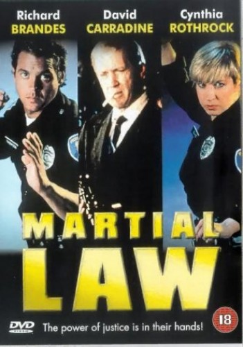 Martial Law DVD - CD 3YVG The Fast Free Shipping ...