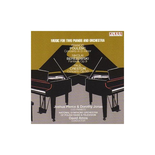 Dorothy Jonas - Concertos for 2 Pnos and Orch