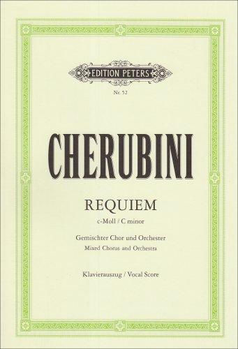 Requiem c-moll: für gemischten Chor und Orchester/Klavierauszug By Luigi Cherubini