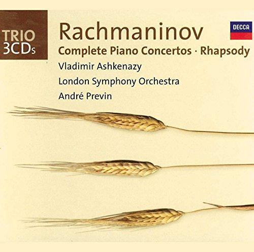 Vladimir Ashkenazy - Rachmaninov: Complete Piano Concertos, Rhapsody