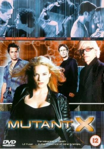 Mutant-X-Series-1-Vol-2-DVD-2001-CD-O5VG-FREE-Shipping