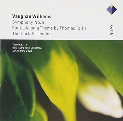 Tasmin Little - Vaughan Williams: Symphony No. 6, Fantasia On A Theme By Thomas Tallis & The Lark As