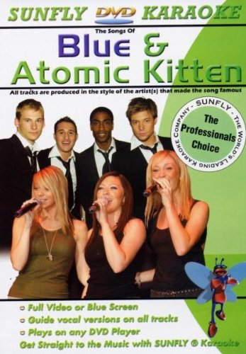 Sunfly-DVD-Blue-And-Atomic-Kitten-Karaoke-CD-RTVG-FREE-Shipping