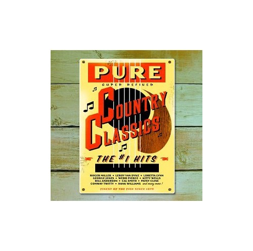 Various - Pure Country Classics: the #1 By Various