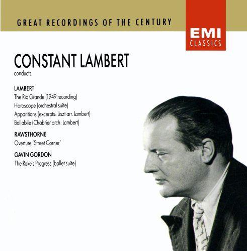 Constant Lambert conducts Gordon, Rawsthorne and Lambert
