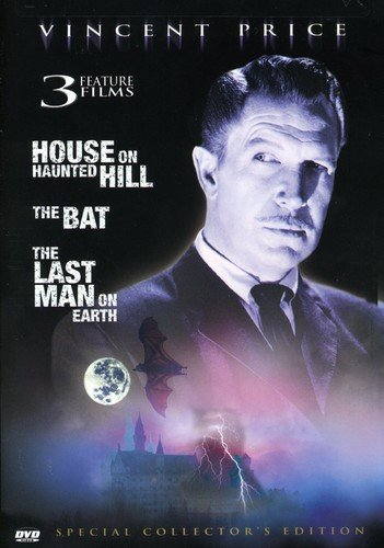 The House on Haunted Hill/The Bat/The Last Man on