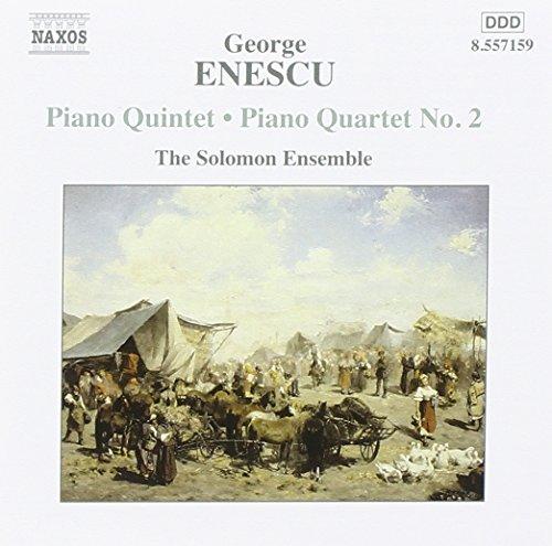 Enescu: Piano Quintet & Piano Quartet No.2