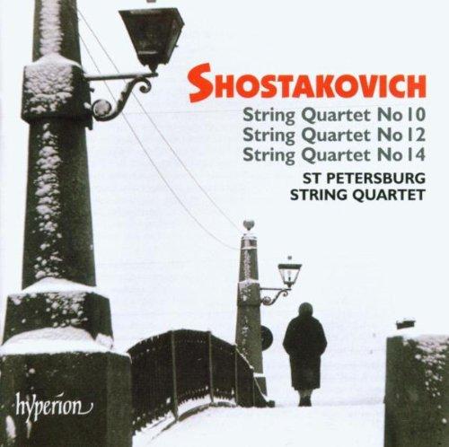 Dmitri Shostakovich - String Quartets 10, 12 & 14 (St. Petersburg String Quartet) By Dmitri Shostakovich