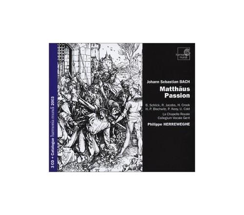 Johann Sebastian Bach - St. Matthew Passion (Herreweghe, Collegium Vocale Gent)