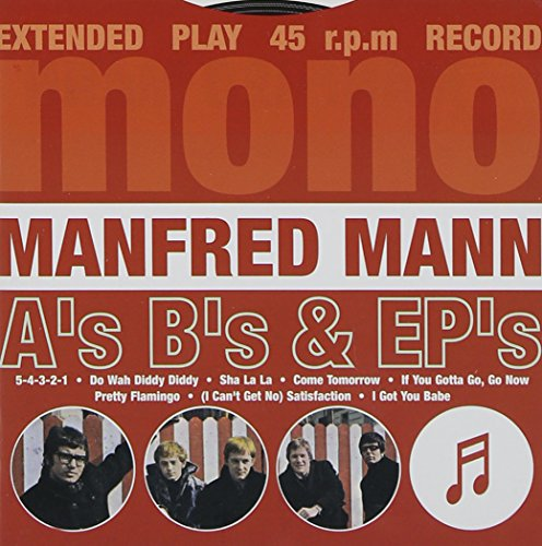 Manfred Mann - A's B's And Ep's By Manfred Mann