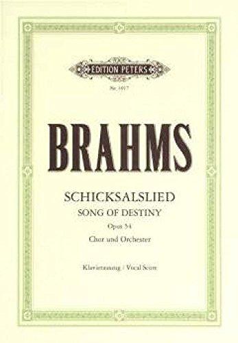 Schicksalslied Op.54 By Johannes Brahms
