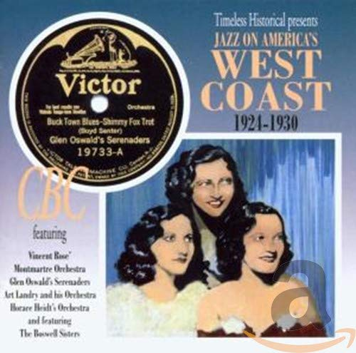 Various Artists - Jazz on America's West Cost 1924-30 By Various Artists
