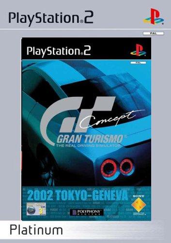 Gt Concept - Gran Turismo Concept  - Platinum (PS2)