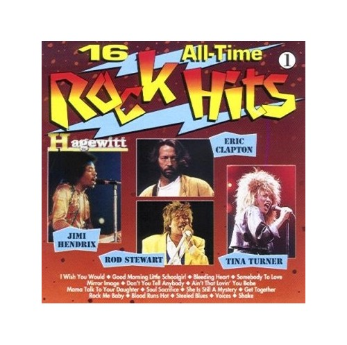 Various - 16 all time Rock Hits 1 By Various