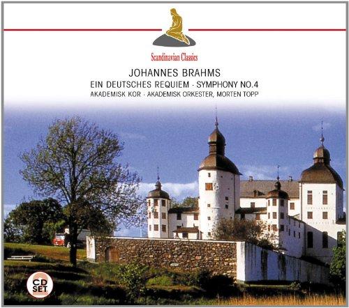 Akademisk Orkester & Morten Topp - Brahms: Ein Deutsches Requiem - Symphony No. 4 By Akademisk Orkester & Morten Topp