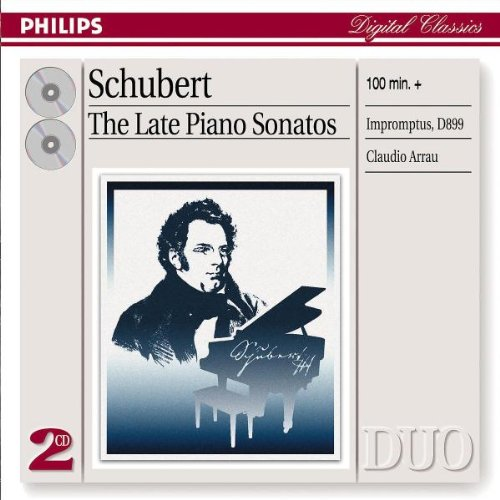 Claudio Arrau - Schubert: Late Piano Sonatas