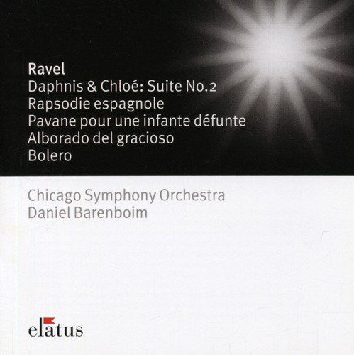 Maurice Ravel - Daphnis & Chloe, Rapsodie Espagnole (Barenboim, Chicago So)