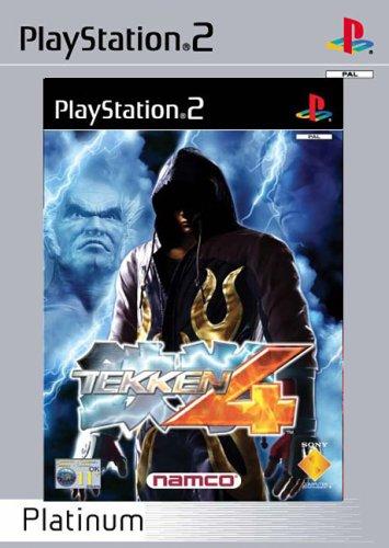 Tekken 4 - Platinum (PS2)