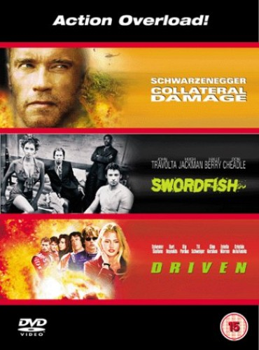 Collateral-Damage-Swordfish-Driven-DVD-2002-CD-NBVG-FREE-Shipping