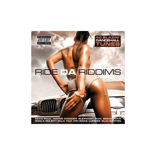 Various Artists - Ride Da Riddims Vol.1: 40 Blazin' Dancehall Tunes By Various Artists