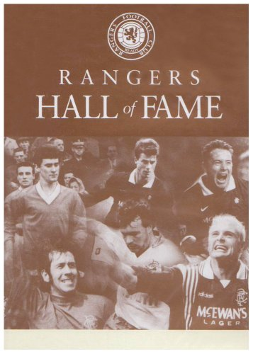 Rangers Fc - Rangers Fc - Hall of Fame