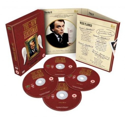 The New Statesman Complete Box Set - Series 1 to 4