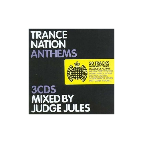 mixed by Judge Jules - Trance Nation Anthems: 3cd Set By mixed by Judge Jules